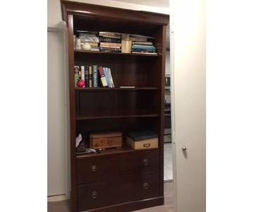 Grange Directoire Bookcase w/ File Drawer