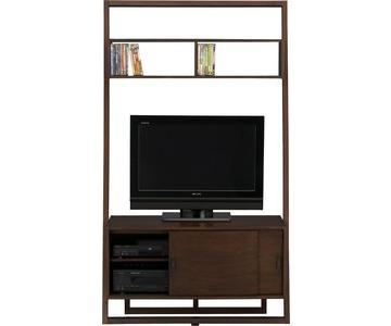 C&B Sloane Leaning Media Stand