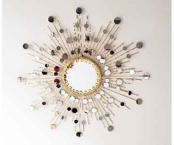 Modern Metal Wall Mirror