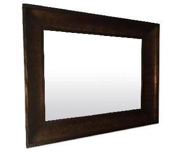 Crate & Barrel Rectangular Wall Mirror