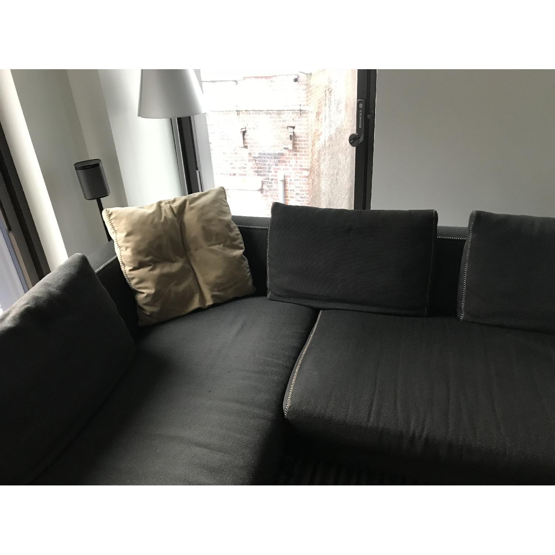 ... Bu0026B Italia Ray 2 Piece Sectional Sofa 3 ...