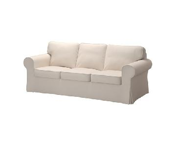 Ikea Ektorp Slip Covered Sofa