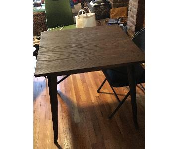 Reclaimed Wood Square Dining Table