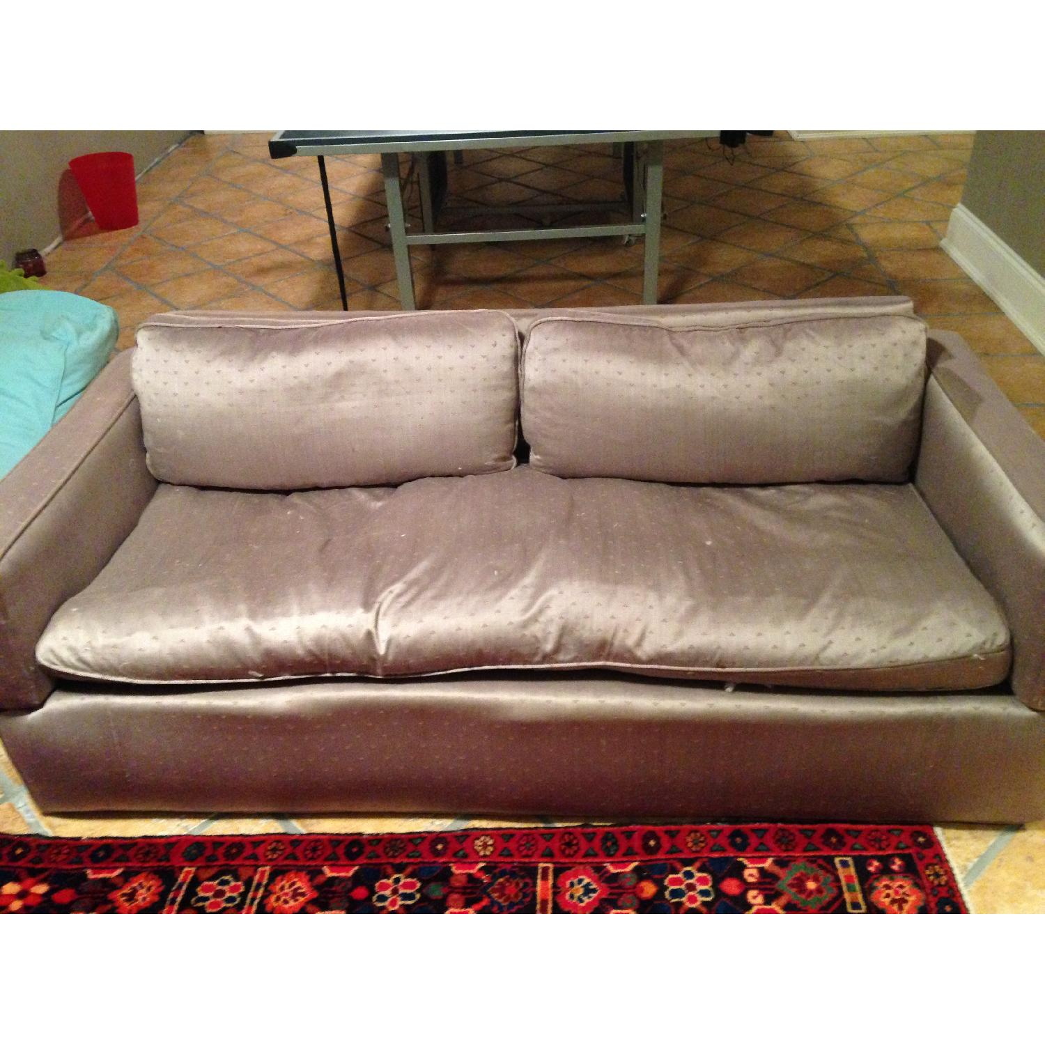 ... Down Filled Sleeper Sofa W/ French Provence Upholstery 0 ...