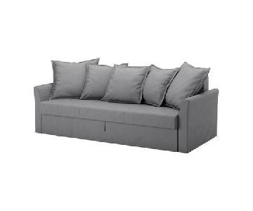 Ikea Holmsund Sleeper Sofa w/ Storage