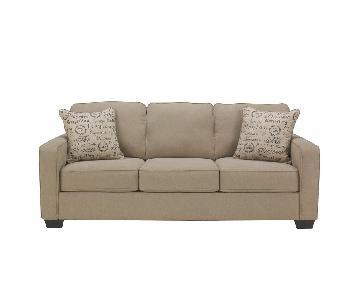Jennifer Convertibles Alenya Microfiber Sleeper Sofa