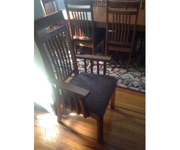 Macy's Rectangular Dining Table w/ 6 Chairs