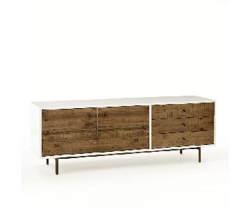West Elm Reclaimed Wood & Lacquer Media Console