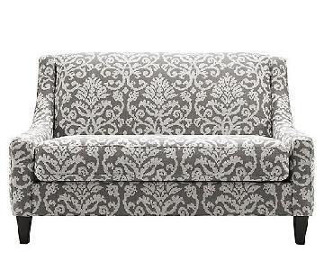Raymour & Flanigan Upholstered Anastasia Settee