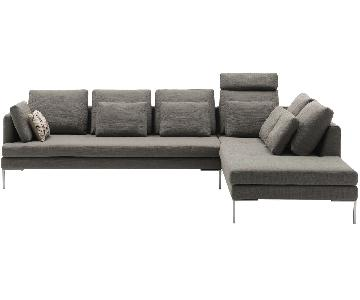 Boconcept Istra 2 Piece Sectional Sofa in Dark Grey