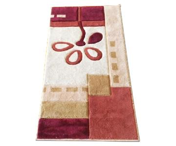 Red Multicolored Rug
