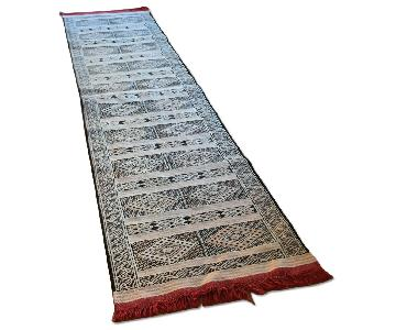 Mid-Atlas Mountains Handwoven Moroccan Kilim Runner