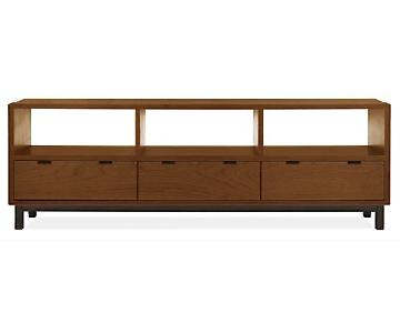 Room & Board Walnut Mid Century Media Console