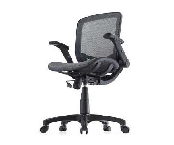 Bayside Furnishings Mesh Office Chair in Black