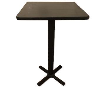 Hertz Square Bar Height Table