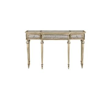 Horchow Dresden Mirrored Console/Desk