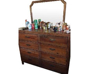 Ashley's 8 Drawer Dresser w/ Mirror