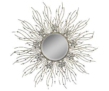 Decorative Starburst Wall Hanging Sunburst Wall Mirror