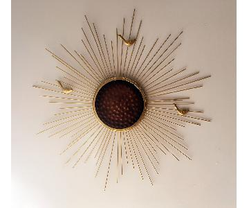 Wall Decorative Starburst Metal Hanging