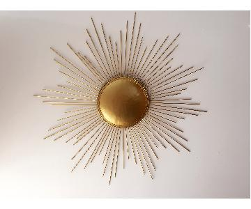 Metal Wall Hanging Sunburst Bedford Decorative