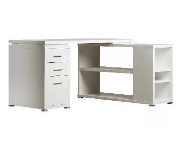 Joss & Main Reversible L-Shaped Desk