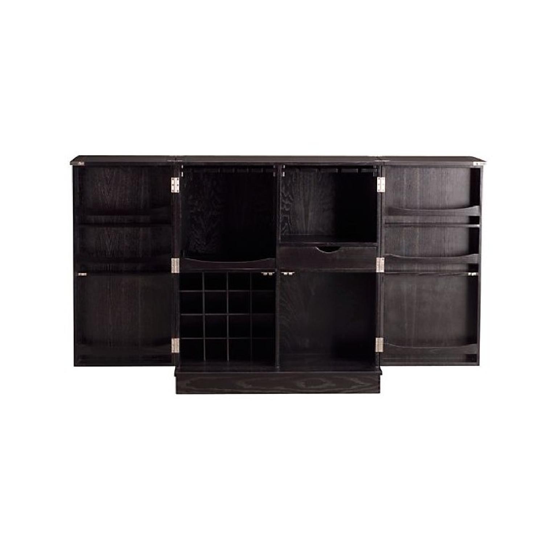 ... Crate U0026 Barrel Steamer BAR CABINET   STEAMER TRUNK STYLE 1 ...