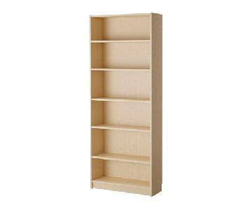 Ikea Billy Bookcase in Birch Veneer