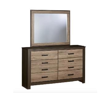 Union Rustic Henson 6 Drawer Double Dresser w/ Mirror