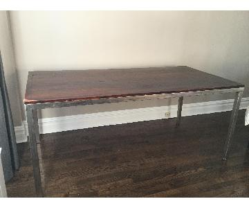 Fruitwood Lacquer Dining Table
