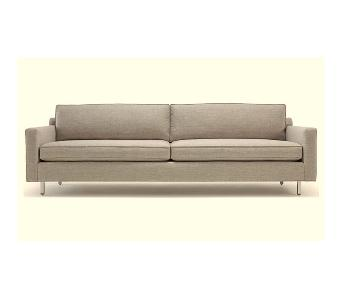 Mitchell Gold + Bob Williams Hunter Suede Couch