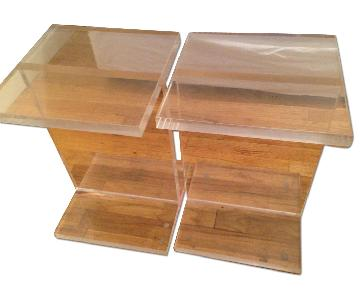 Kartell Acrylic Transparent Side Table