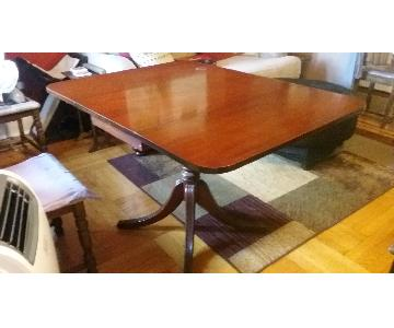 1940s Drop Leaf Dining Table