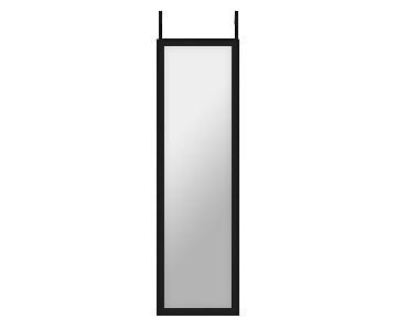 Crate & Barrel Over the Door Mirror