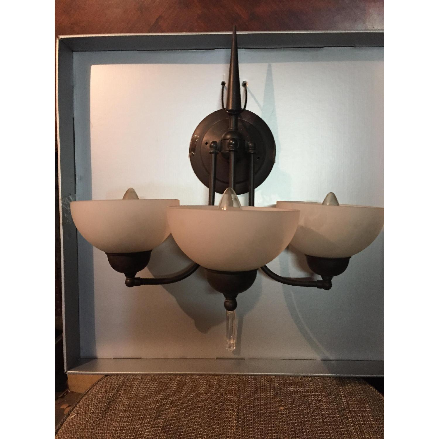Brass Wall Sconce-0