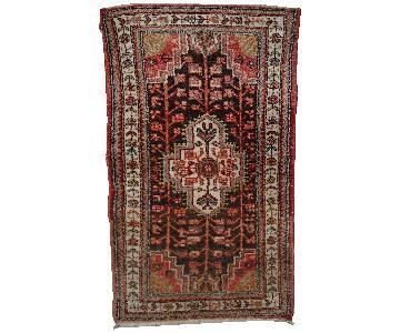 Vintage 1970s Persian Hamadan Rug