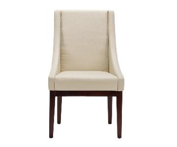 Safevieh Sloping Cream Armchair