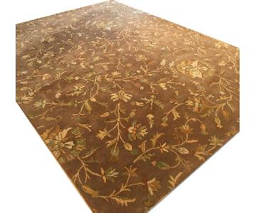 Home Goods Bradford Floral Wool Area Rug