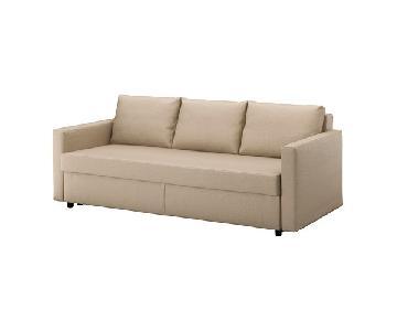 Ikea Friheten Beige Sleeper Sofa