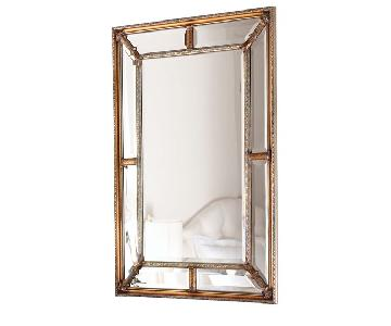 Horchow Beveled Frame Mirror