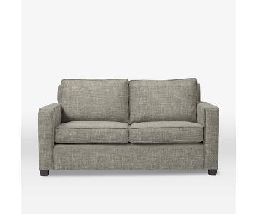 "West Elm Henry 76"" Sofa in Tweed Cement"