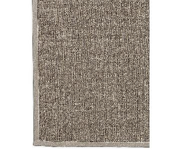 restoration hardware custom belgian basket weave sisal rug