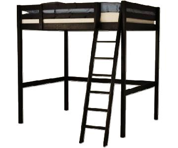 Ikea Stora Espresso Loft Bed