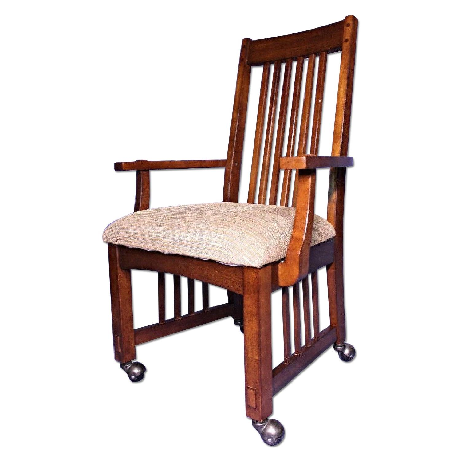 Arts And Crafts Stickley Chair Armchair ...