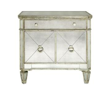 Z Gallerie Borghese Mirrored Side Table
