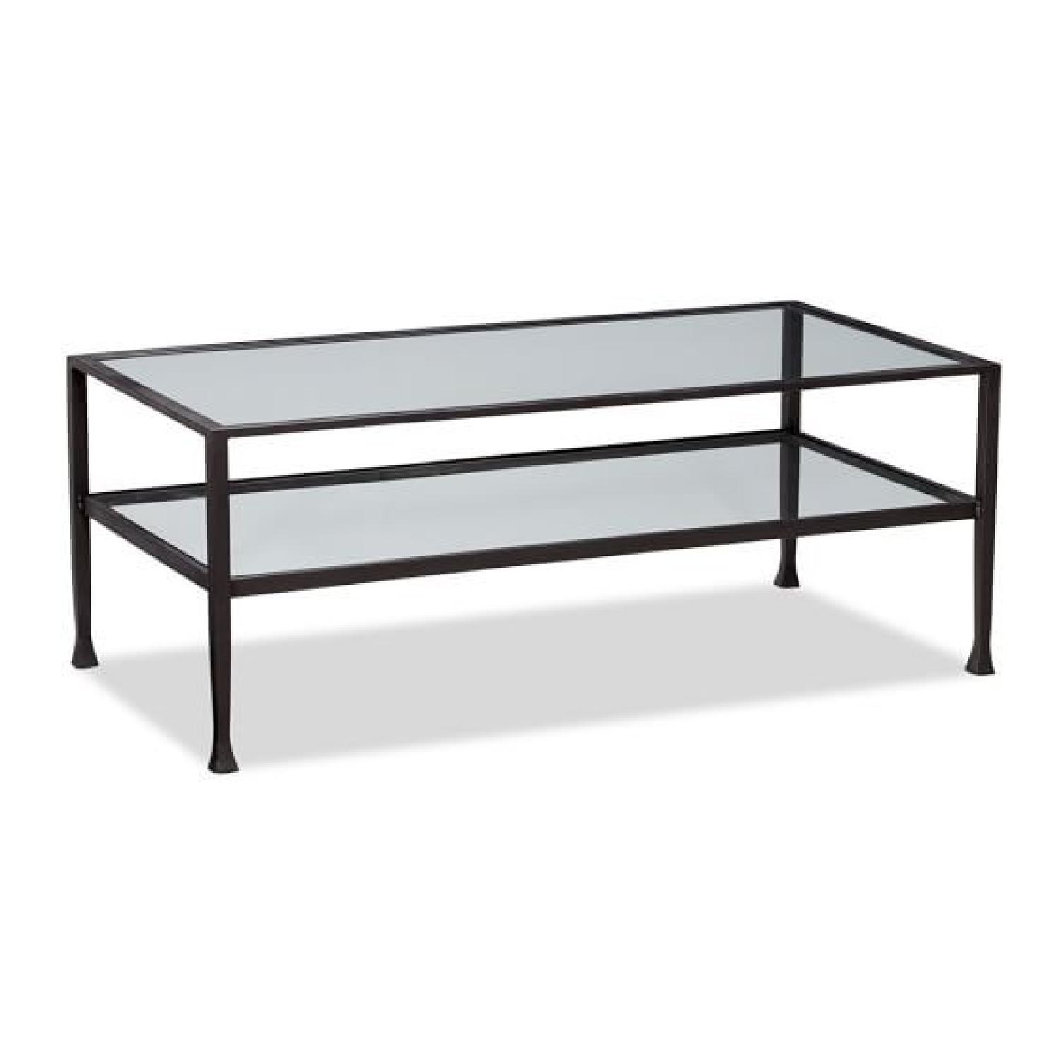 Pottery Barn Tanner Coffee Table AptDeco