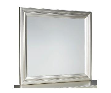 Ashley's Coralayne Bedroom Mirror in Silver
