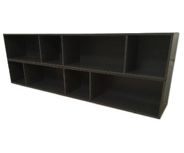 BoConcept Charcoal Wall System Shelves