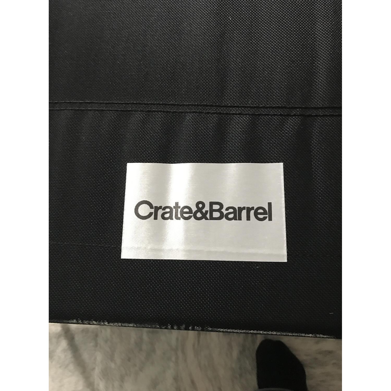 Crate & Barrel Axis II Twin Sleeper Sofa AptDeco