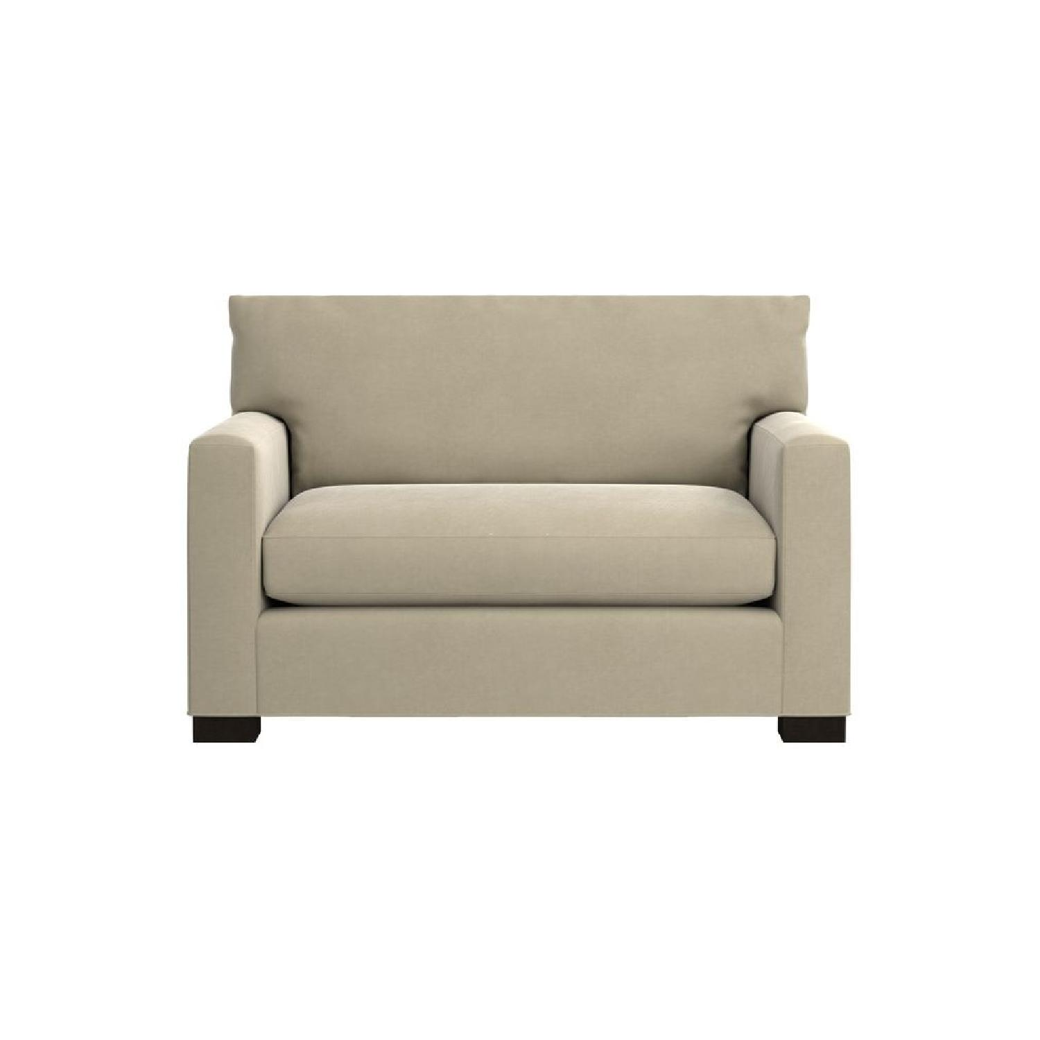 Crate & Barrel Axis II Twin Sleeper Sofa AptDeco