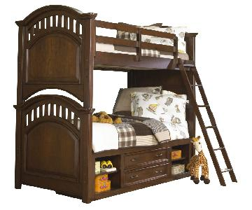 Samuel Lawrence Furniture Expedition Twin/Full Bunk Bed